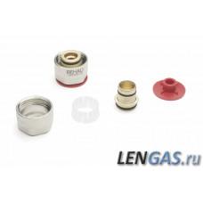 Резьбозажимное соединение для подключ. трубы 17х2 мм, REHAU (12506071002)